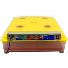 Автоматический инкубатор MS-63/252 (63 куриных, 252 перепелиных яиц)